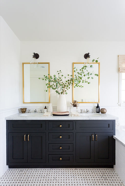 Modern Farmhouse Bathroom Finds For An Easy Update Allisa Jacobs