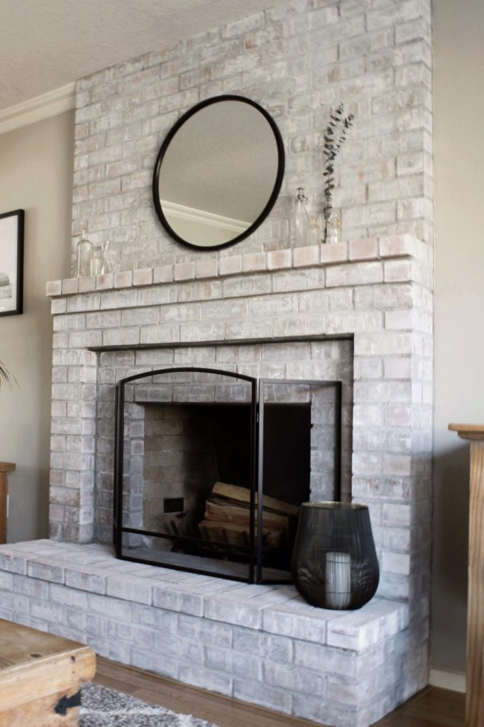 3 Tips For Creating A Modern, Whitewashing Brick Fireplace