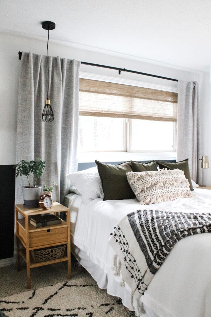 Reveal Master Bedroom Refresh With Boho Decor Allisa Jacobs